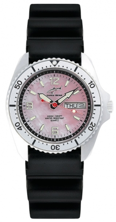 Chris Benz CBM-R-KB-SI Chris Benz One Medium 200m Uhr
