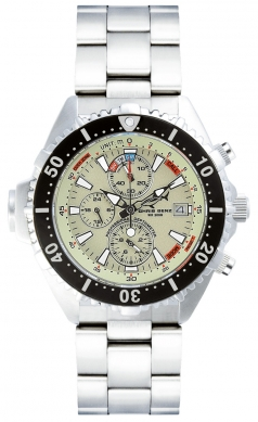 Chris Benz Depthmeter Chronograph 200m Chris Benz CB-C200-N-MB