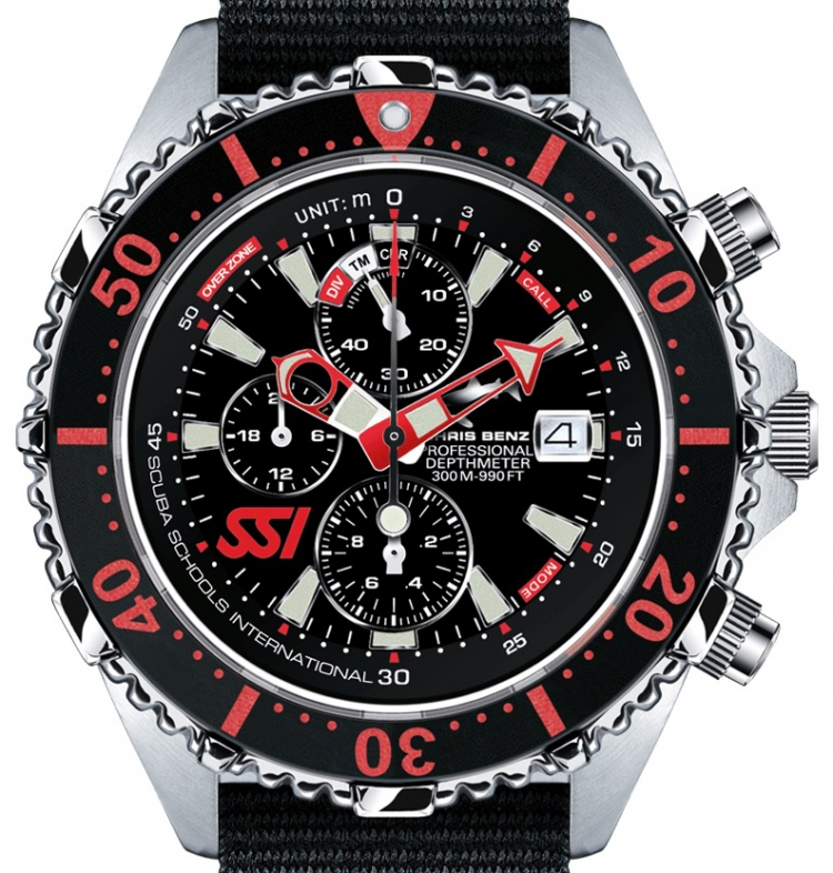 Cb Nbs 300m Ssi Chronograph C300 Chris Depthmeter Edition Benz b6Yyf7vg