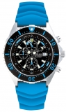 Chris Benz CB-C300-B-KBB Chris Benz Depthmeter Chronograph 300m