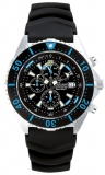 Chris Benz Depthmeter Chronograph 300m Chris Benz CB-C300-B-KBS