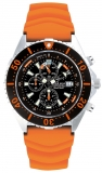 Chris Benz CB-C300-O-KBO Chris Benz Depthmeter Chronograph 300m