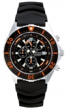 Chris Benz Depthmeter Chronograph 300m Chris Benz CB-C300-O-KBS