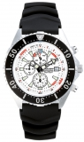 Chris Benz Depthmeter Chronograph 300m Chris Benz CB-C300-W-KBS